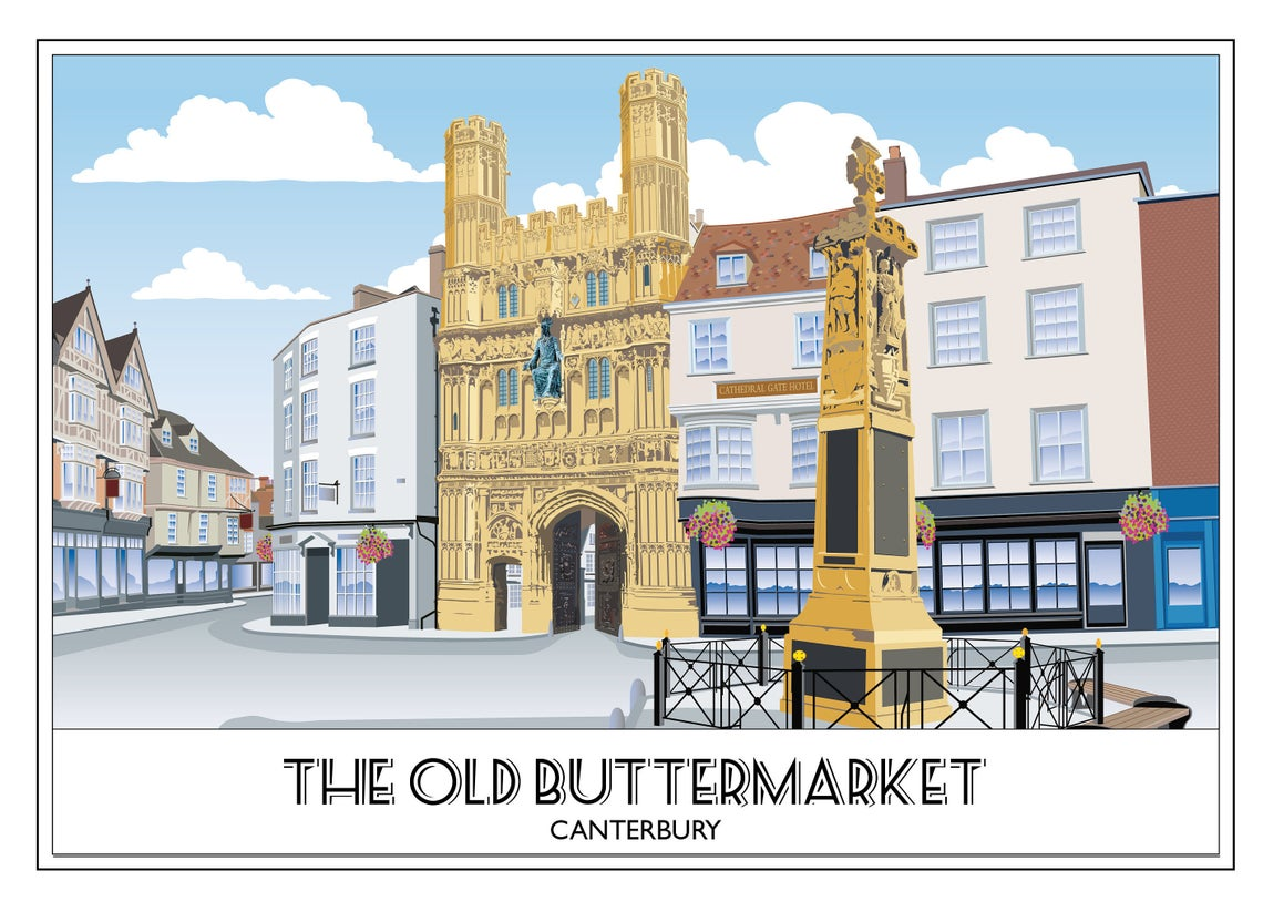 The Old Buttermarket 2, Canterbury Cathedral, Kent
