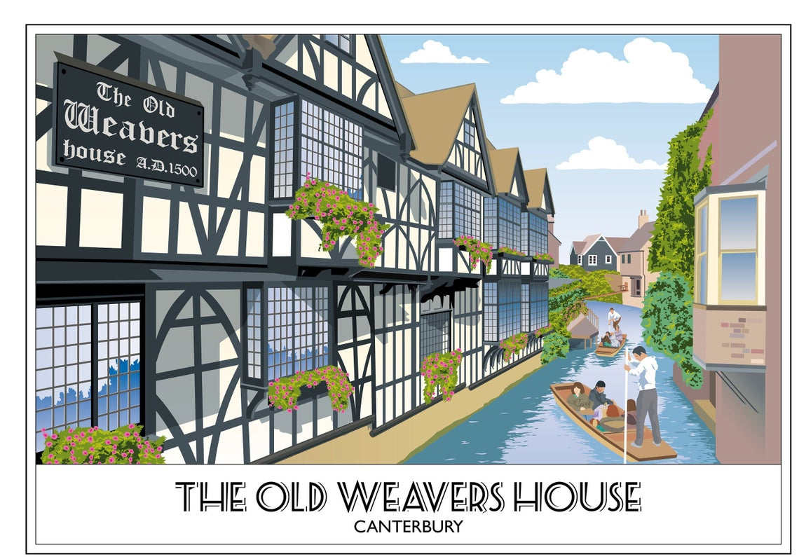 The Old Weavers House 2, Canterbury, River Stour. Kent