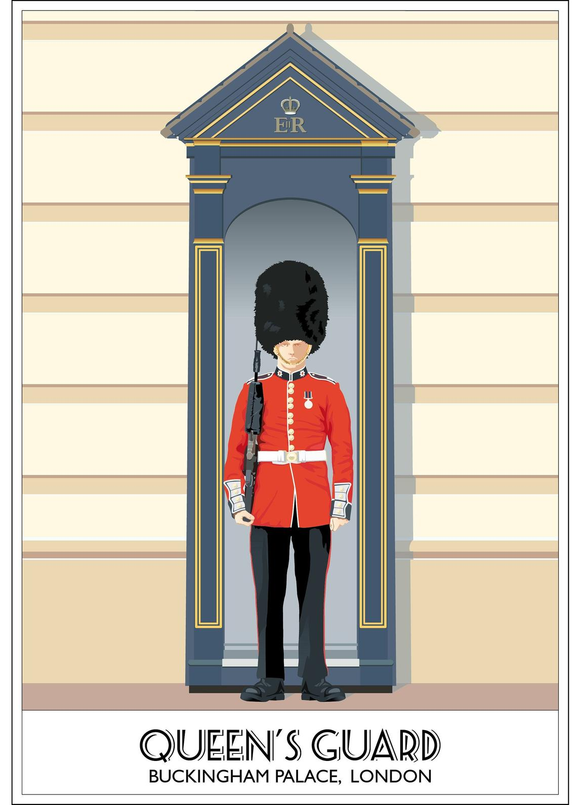 The Queen's Guard, Buckingham Palace, London