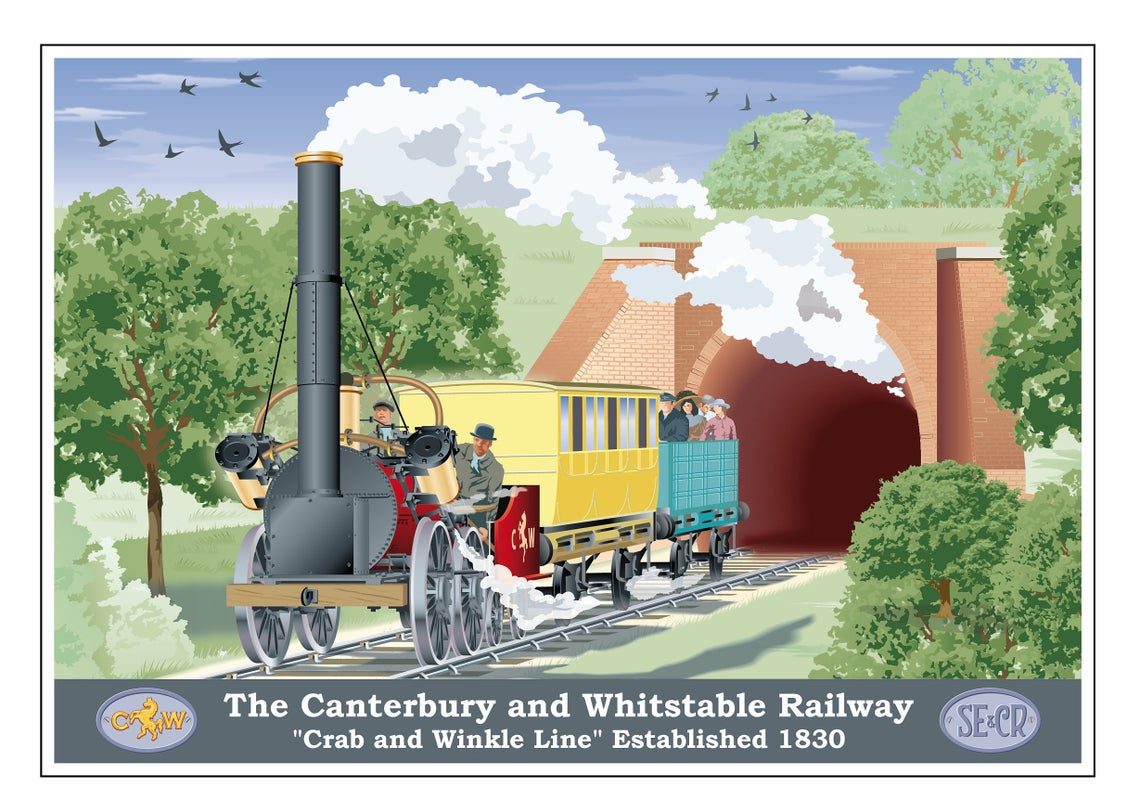 Crab and Winkle Railway, Whitstable, Canterbury, Kent