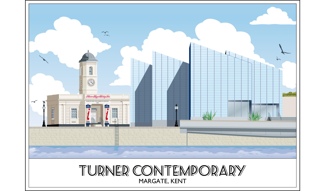 Turner Contemporary Art Gallery, Margate, Harbour, Kent