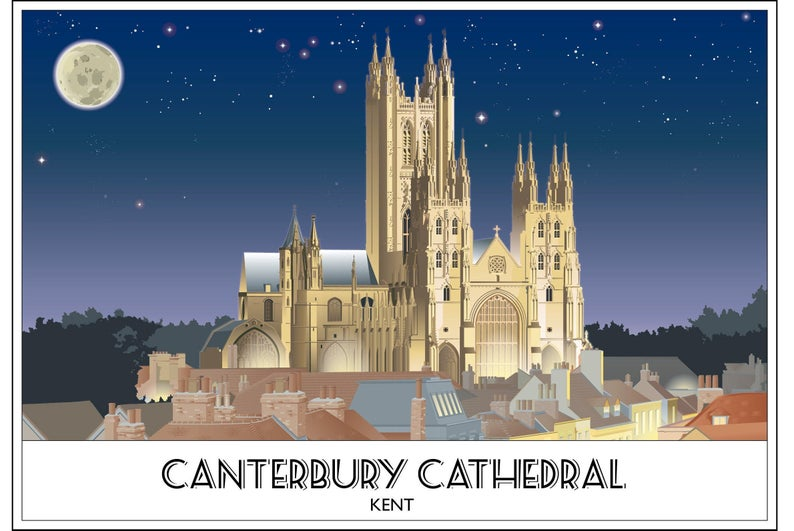 Canterbury Cathedral World Heritage Mother Church Kent
